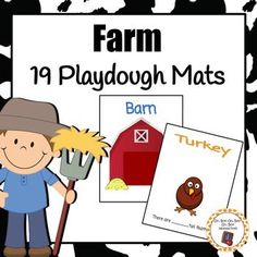 Build and count with these engaging playdough mats.