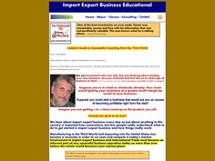 Try Insiders Guide To Successful Importing From The Third World Now- http://www.vnulab.be/lab-review/insiders-guide-to-successful-importing-from-the-third-world