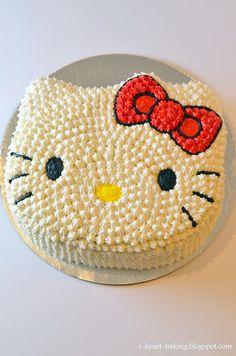 ideas for birthday cake girls kids hello kitty Bolo Da Hello Kitty, Hello Kitty Birthday Cake, Cake Birthday, 21st Birthday, Birthday Ideas, Birthday Cakes Girls Kids, Birthday Parties, Pretty Cakes, Cute Cakes