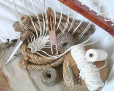 Stonk Knots - this website has lots of interesting things made out of nautical rope. Excellent for DIY ideas.