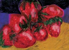 #strawberries, #art, #artist