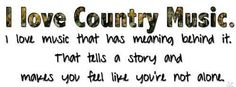 i <3 country