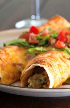 Low FODMAP Recipe and Gluten Free Recipe - Turkey enchiladas  ---  (Update)