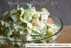 Almás-majonézes kínai kel saláta | NOSALTY – receptek képekkel