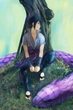 electric-firefly: art by 160 on pixiv #sasuke #uchiha