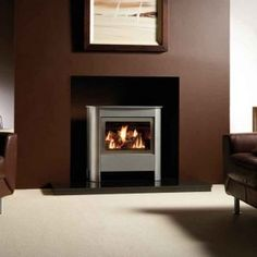 Gazco Steel Manhattan Medium Conventional Flue Gas Stove