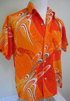"""""""made in hawaii"""" polyester"""