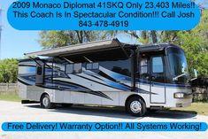 2009 Monaco Diplomat 41SKQ for sale  - Charleston, SC | RVT.com Classifieds Diesel For Sale, Rv For Sale, Motorhomes For Sale, Engine Types, Cummins, Charleston Sc, South Carolina, Monaco, Recreational Vehicles