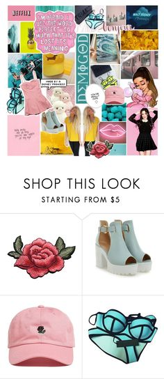"""""""『✧』let me tell you about the birds and the bees"""" by frxity-bxmb-galaxy ❤ liked on Polyvore featuring Sharpie, Nicole Miller, Triangl, Baby Phat and fashysfashions"""