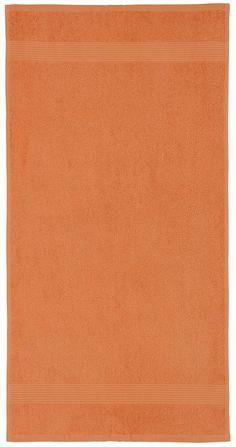 Moderne Farben in einem schlichten Uni machen diese Handtücher »Sina« zu einem echten Blickfänger in jedem Badezimmer. Die dezente Bordüre verleiht den Handtüchern dabei noch den letzten Schliff. Der weiche, flauschige Walkfrottee ist aus 100% Baumwolle (mit dem Kauf unterstützen Sie den nachhaltigen Baumwollanbau von Cotton made in Africa) hergestellt und sehr hautfreundlich. Die Qualität hat ...