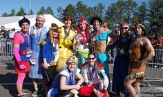 THE RUNDISNEY PRINCESS HALF AS THE #PRINCESSMEN