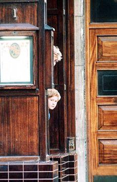 .Princess Diana and Prince Harry.
