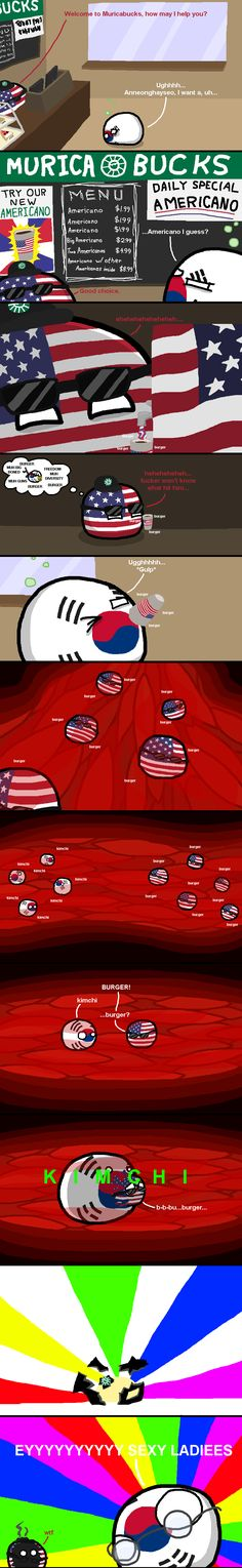 """A Double Shot of Murica"" by BlahTheAmazing in polandball - Imgur"