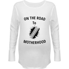 On the road to motherhood | Custom fun maternity top.