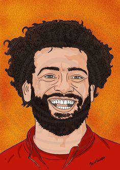 Liverpool Football Club, Liverpool Fc, Wall Stickers Gaming, Mo Salah, Mohamed Salah, Smart Art, Football Boots, Cartoon Drawings, Lions