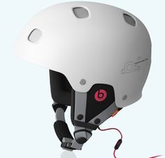 Beats headphones made for POC helmet