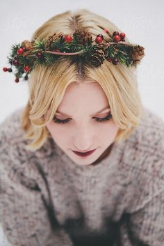 Holiday Crown | Bethany Olson Photography