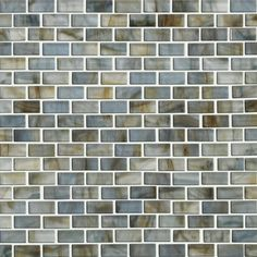"""haw Floors Glass Expressions Frosted Micro 12"""" x 13"""" Blocks Accent Tile in Seaglass $14.29 SF wayfair.com"""