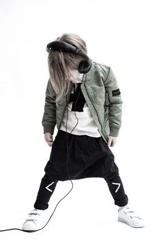 Finger in the Nose bomber jacket, Loud Apparel Baggy pants, Nununu plus t-shirt