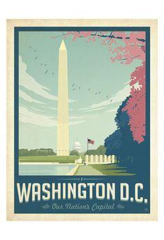 Washington, DC Art Print at AllPosters.com