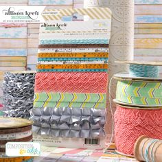 New collection by Allison Kreft. So yummy! These trims are so fun! #websterspages #allisonkreft #compositionandcolor Websters_pages_allison_kreft_C_trimcard