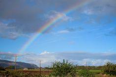 North Shore, Oahu rainbow!