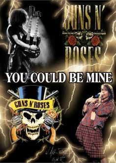 "Guns N' Roses, ""You Could Be Mine,"" 1991"