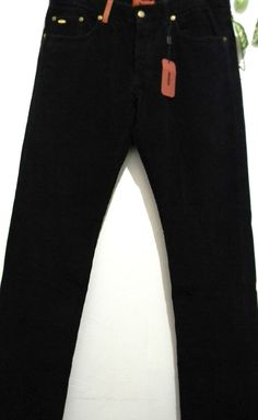 Missoni Mens Black Corduroy Casual Pants Size 38 100% Cotton Made in Italy NEW #Missoni #CasualPants