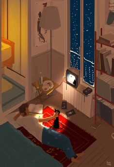 Movie Night by Pascal Campion