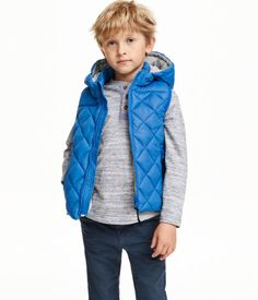 Steppweste | Kornblumenblau | Kinder | H&M DE