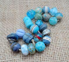Handmade Lampwork Beads  Destash by LyndasLampwork on Etsy, $48.00