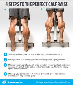 Calf Exercise Specialization is part of Calf exercises Try this calf specialization program if you need to add an inch or so to your lower legs - Gym Workout Chart, Gym Workout Tips, Weight Training Workouts, Workout Body, Sweat Workout, Calf Training, Leg Workouts For Men, Preparation Physique, Fitness Studio Training