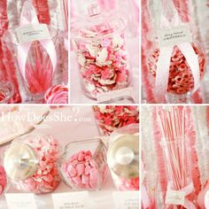 candy take home table