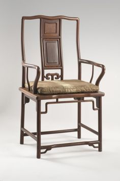 Armchair  Artist/maker unknown, Chinese  Geography: Made in China, Asia Period: Qing Dynasty (1644-1911) Date: 19th century