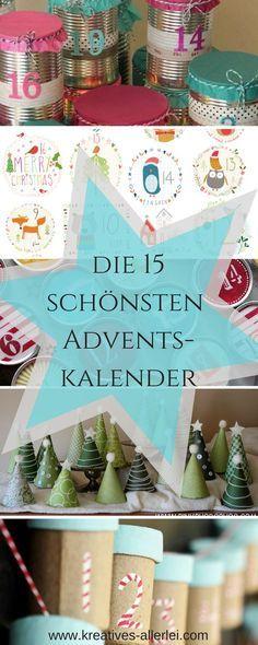 Die schönsten Adventskalender / Advent/ Weihnachten / DIY