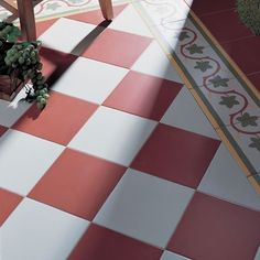d88544886ef No 838 Traditional but in red and white Kitchen Tiles