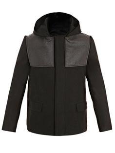 BALENCIAGA  Hooded donkey jacket