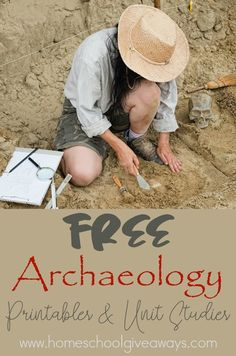 Learning about archaeology is a great way to combine history and science in the homeschool classroom. Use these Archaeology resources in your homeschool today! History Activities, Science Activities, Preschool Themes, Science Projects, Archaeology For Kids, Archaeology News, Kids Education, History Education, Teaching History