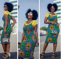 Collection of all the best and most trendy and also stunning ankara styles there are in the fashion world. Comprising of the best of the best ankara styles of all time African Print Dresses, African Fashion Dresses, African Dress, Ankara Fashion, African Prints, African Outfits, African Inspired Fashion, African Print Fashion, Fashion Prints