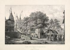 "Prinsep's ""View Of The Gyan Bapee Well, Benares""."