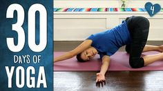 30 Days of Yoga-- so awesome for beginners who want to start somewhere! you can do it all in the comfort of your home, plus Adriene is great! start at the beginning my friends!