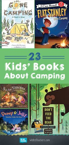 Childrens books about camping