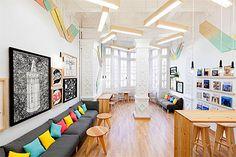 Language School Interior Branding - Commercial Interior Design ...