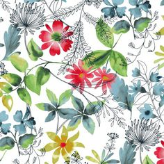 watercolour prints from Dear Stella's Adelaie collection...