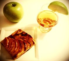 French Apple Tart with Apricot Bourbon Glaze