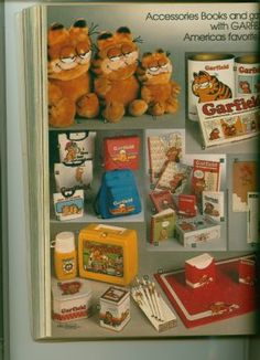 Sears Christmas Catalog by Wishbook, Garfield! I was a Garfield junkie! Christmas Catalogs, Christmas Books, 1980s Christmas, 1980s Childhood, Childhood Memories, Garfield, 80s Kids, I Remember When, Classic Toys
