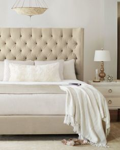 Inspirational Tufted King Headboard and Frame