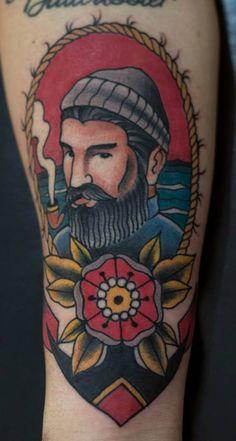 #tattoofriday - Old School - Dionel Martins Orona, Brasil.
