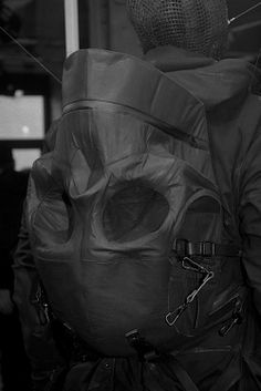 5edd2f8141d01 Aitor Throup Fashion Backpack, Backpack Bags, Fashion Bags, Dark Fashion,  Travel Bags
