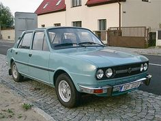 ŠKODA 120 L. My first car was like this. I sold it for 8€ to Tallinn in year 1990.
